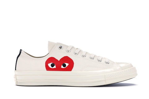 Converse Chuck Taylor All-Star 70s Ox Comme des Garcons PLAY - White