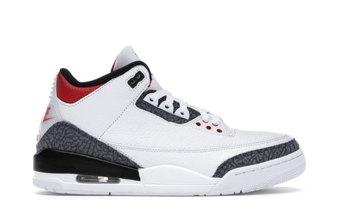 "Air Jordan 3 Retro ""Fire Red Denim (2020)"