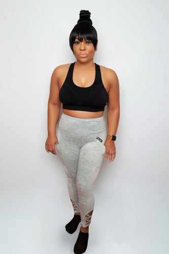 *** NEW ARRIVALS *** High Waist Leggings w/ Side Pockets & Mesh
