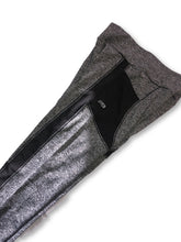 Load image into Gallery viewer, Women's Leggings W/ Mesh Strip Gray W/ Pocket