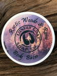 Rustic Woods & Rum Body Balm