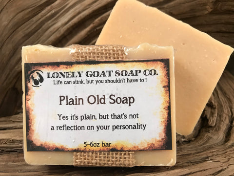 Plain Old Soap