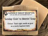 Sunday Goin' to Meetin' Soap