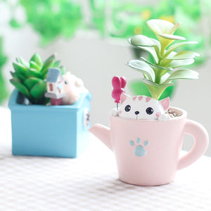 Tabletop Animal Pots