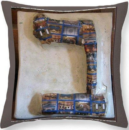 BET - throw pillow designed by Gabriele Levy
