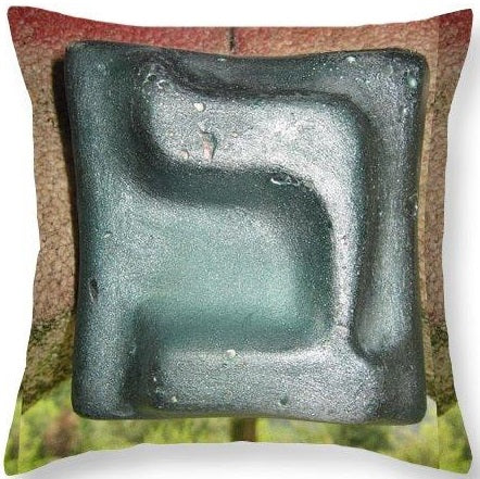 BET throw pillow designed by Gabriele Levy