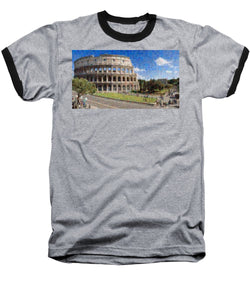 Colosseum - Baseball T-Shirt - ALEFBET - THE HEBREW LETTERS ART GALLERY