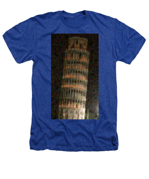 Pisa Tower - Heathers T-Shirt - ALEFBET - THE HEBREW LETTERS ART GALLERY