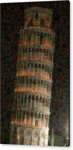 Pisa Tower - Acrylic Print - ALEFBET - THE HEBREW LETTERS ART GALLERY