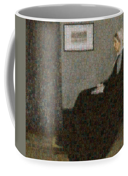 Tribute to Abbott - Mug - ALEFBET - THE HEBREW LETTERS ART GALLERY