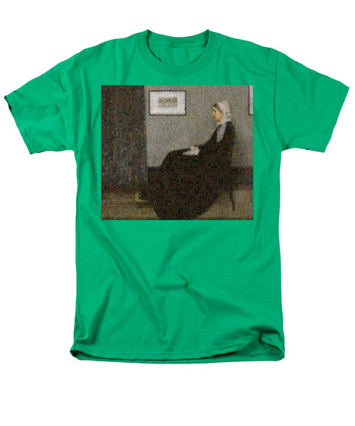 Tribute to Abbott - Men's T-Shirt  (Regular Fit) - ALEFBET - THE HEBREW LETTERS ART GALLERY