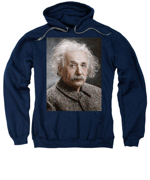 Tribute to Albert Einstein - Sweatshirt - ALEFBET - THE HEBREW LETTERS ART GALLERY