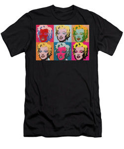Tribute to Andy Warhol - 2 - T-Shirt - ALEFBET - THE HEBREW LETTERS ART GALLERY