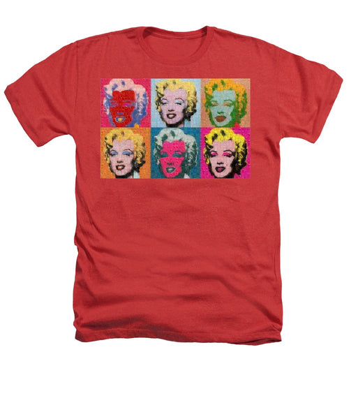 Tribute to Andy Warhol - 2 - Heathers T-Shirt - ALEFBET - THE HEBREW LETTERS ART GALLERY