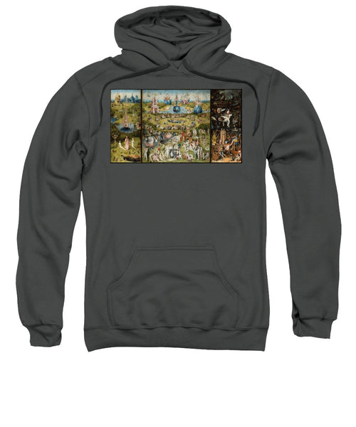 Tribute to Bosch - Sweatshirt - ALEFBET - THE HEBREW LETTERS ART GALLERY