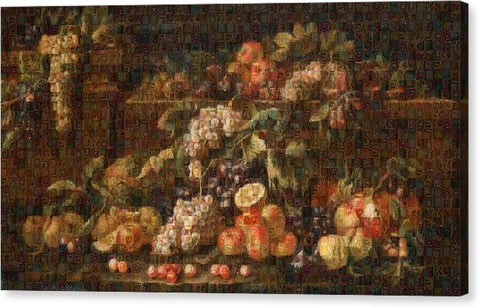 Tribute to Bruegel - Canvas Print - ALEFBET - THE HEBREW LETTERS ART GALLERY