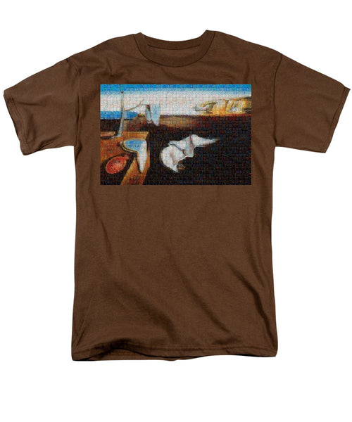 Tribute to Dali - 1 - Men's T-Shirt  (Regular Fit) - ALEFBET - THE HEBREW LETTERS ART GALLERY