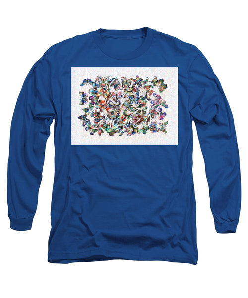 Tribute to Gestein - Long Sleeve T-Shirt - ALEFBET - THE HEBREW LETTERS ART GALLERY