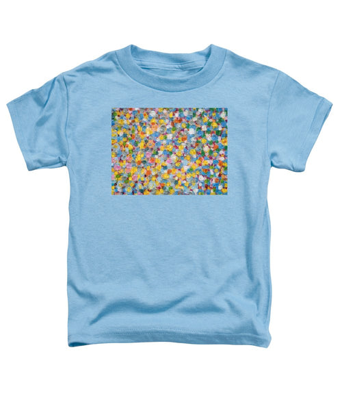 Tribute to Hirst - Toddler T-Shirt - ALEFBET - THE HEBREW LETTERS ART GALLERY