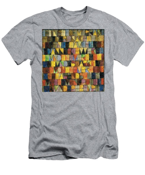 Tribute to Klee - 2 - T-Shirt - ALEFBET - THE HEBREW LETTERS ART GALLERY