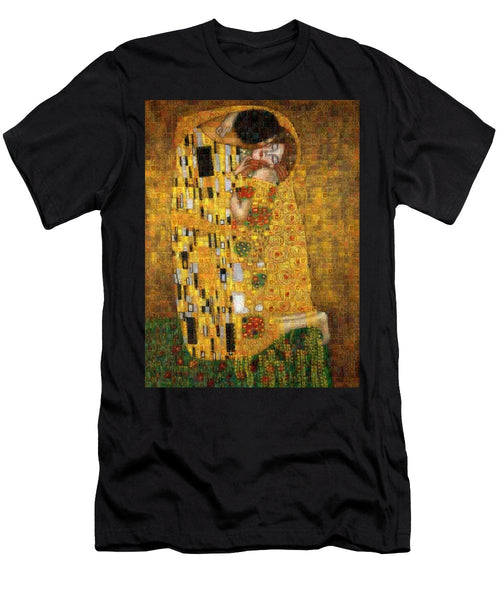 Tribute to Klimt - T-Shirt - ALEFBET - THE HEBREW LETTERS ART GALLERY