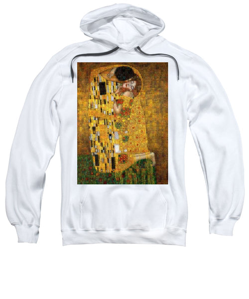 Tribute to Klimt - Sweatshirt - ALEFBET - THE HEBREW LETTERS ART GALLERY