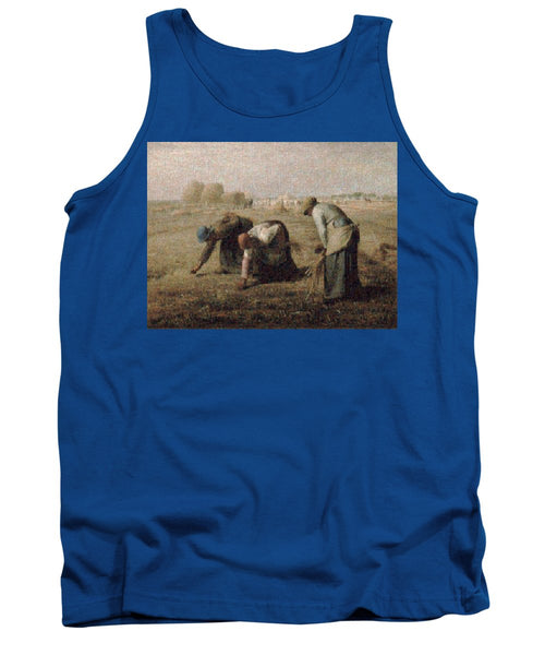 Tribute to Millet - Tank Top - ALEFBET - THE HEBREW LETTERS ART GALLERY