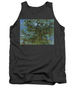 Tribute to Monet - 1 - Tank Top - ALEFBET - THE HEBREW LETTERS ART GALLERY
