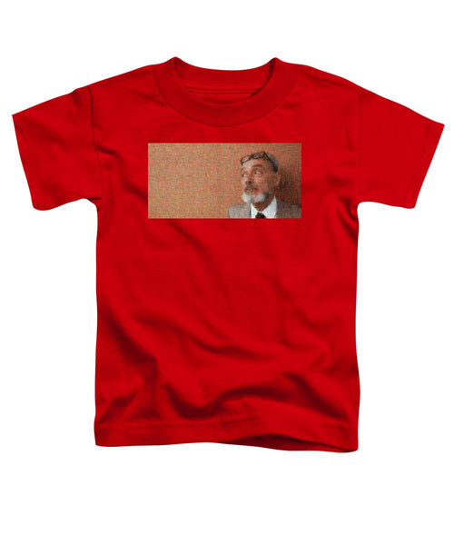 Tribute to Primo Levi - Toddler T-Shirt - ALEFBET - THE HEBREW LETTERS ART GALLERY