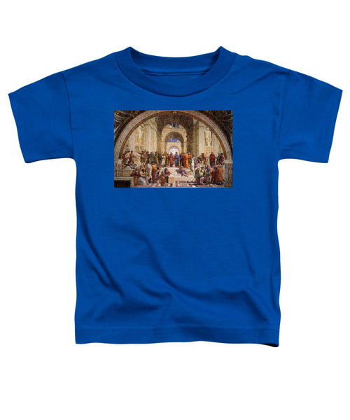 Tribute to Raffaello - Toddler T-Shirt - ALEFBET - THE HEBREW LETTERS ART GALLERY