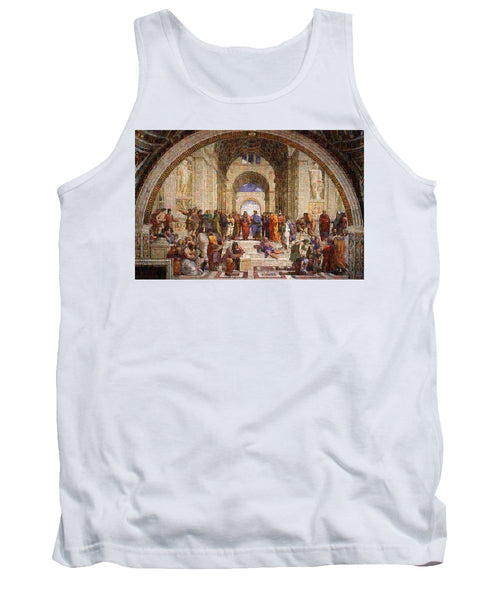 Tribute to Raffaello - Tank Top - ALEFBET - THE HEBREW LETTERS ART GALLERY