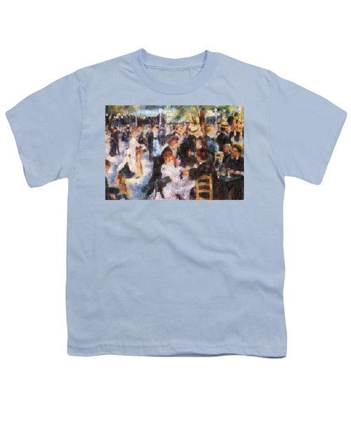 Tribute to Renoir - Youth T-Shirt - ALEFBET - THE HEBREW LETTERS ART GALLERY