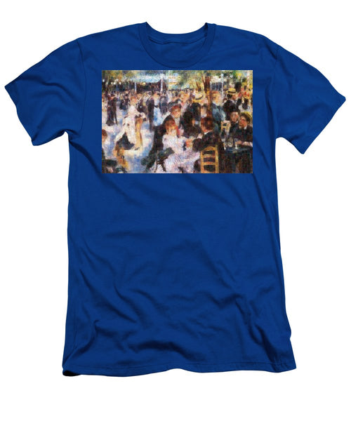 Tribute to Renoir - T-Shirt - ALEFBET - THE HEBREW LETTERS ART GALLERY
