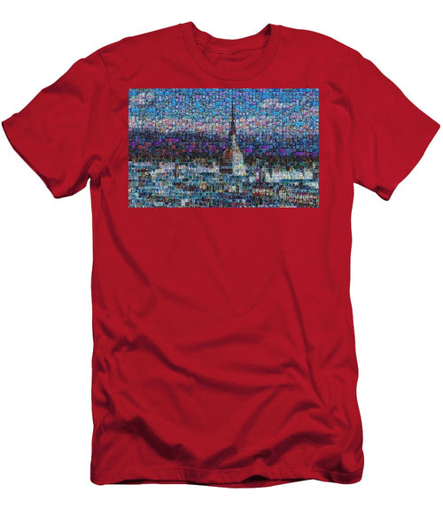 Tribute to Torino - 2 - T-Shirt - ALEFBET - THE HEBREW LETTERS ART GALLERY