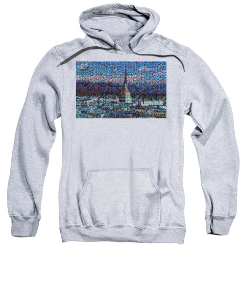 Tribute to Torino - 2 - Sweatshirt - ALEFBET - THE HEBREW LETTERS ART GALLERY