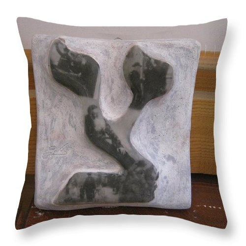 Tzadikim - Throw Pillow - ALEFBET - THE HEBREW LETTERS ART GALLERY