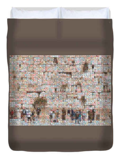 Western Wall - Duvet Cover - ALEFBET - THE HEBREW LETTERS ART GALLERY