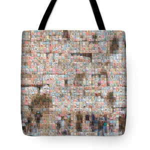 Western Wall - Tote Bag - ALEFBET - THE HEBREW LETTERS ART GALLERY