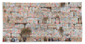Western Wall - Bath Towel - ALEFBET - THE HEBREW LETTERS ART GALLERY