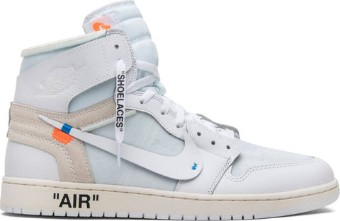 OFF-WHITE x Air Jordan 1 Retro High OG 'White' 2018
