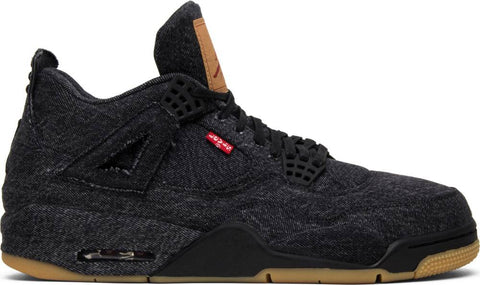 Levi's x Air Jordan 4 Retro 'Black Denim'