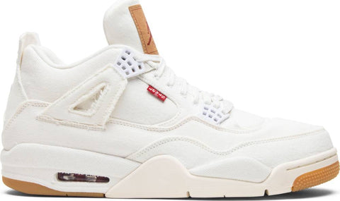 Levi's x Air Jordan 4 Retro 'White Denim'