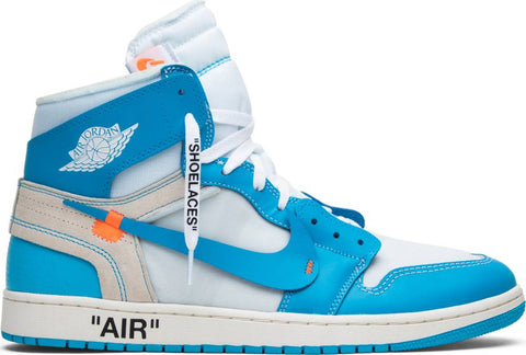 OFF-WHITE x Air Jordan 1 Retro High OG 'UNC'