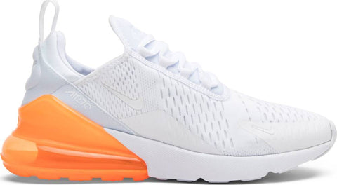 Air Max 270 'White Total Orange'