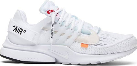 OFF-WHITE x Air Presto 'White'