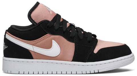 Air Jordan 1 Low GS 'White Rose Gold'