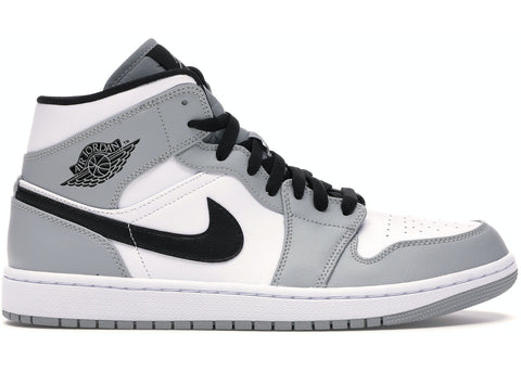 Air Jordan 1 Mid Smoke Grey