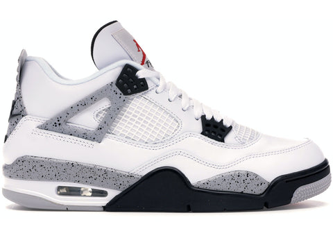Jordan 4 Retro White Cement