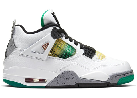 Air Jordan 4 Lucid Green Rasta