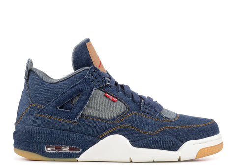 Levi's x Air Jordan 4 Retro 'Blue Denim'